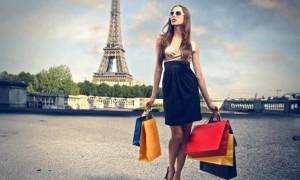 pariste alışveriş yapmak