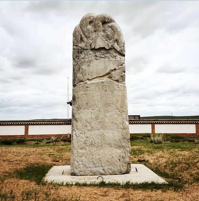 Göktürk Anıtlarından Bir Kare