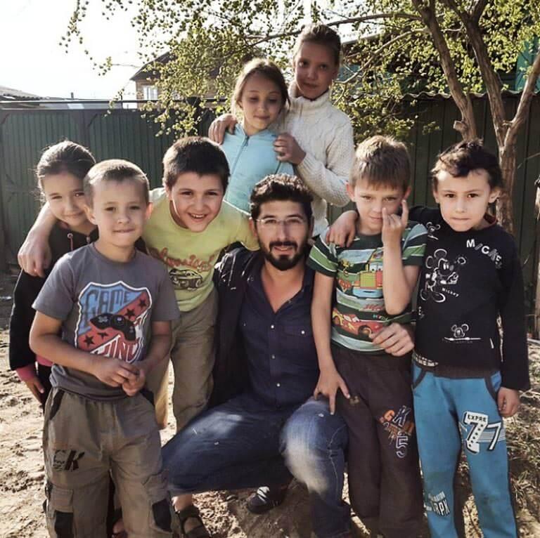 Moğolistan'da Çocuklar