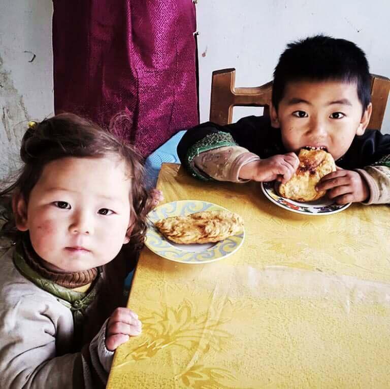 Moğolistan'da Yemek
