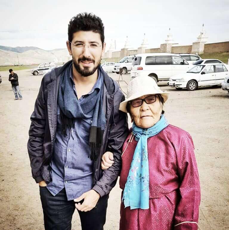 Moğol Yaşlı Kadın