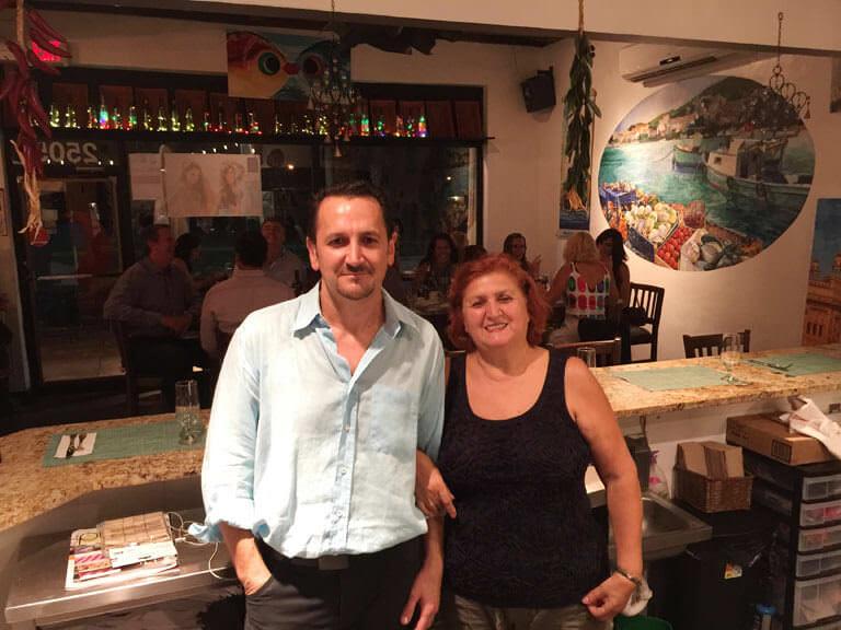 Agora Mediterranean Kitchen' ın sahibi Semih Arif Özdemir