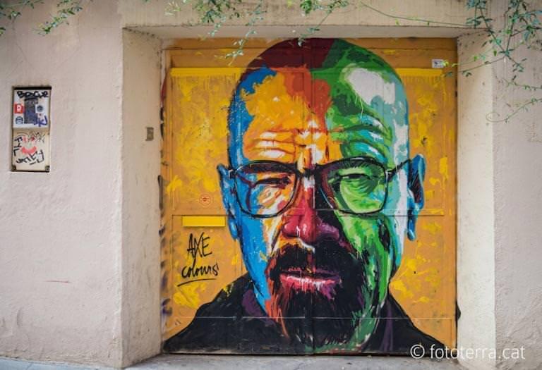barselonada sokak sanatı