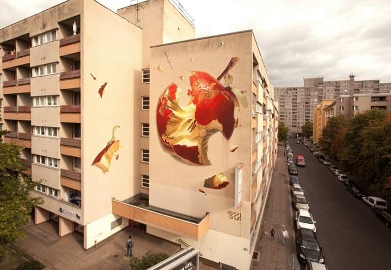 berlinde sokak sanatı