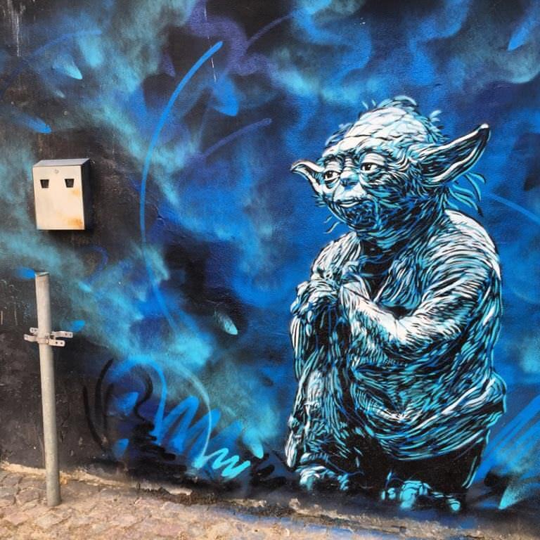 Danimarkada Yoda çizimi