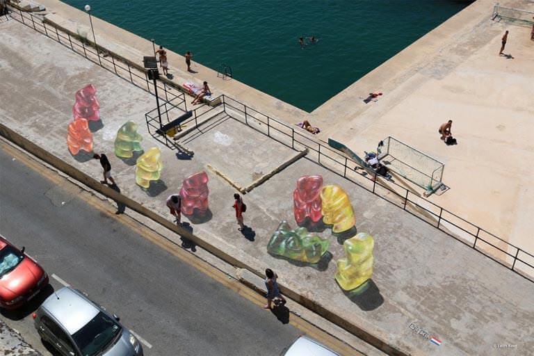 Maltada kaldırım resimleri