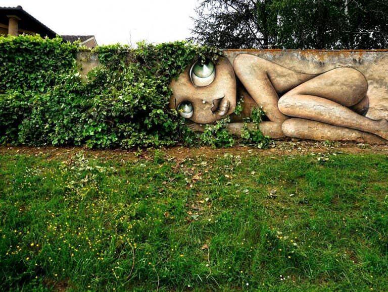 fransada duvar sanatı