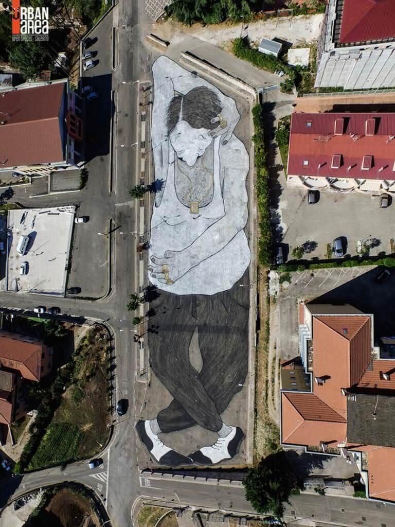 italyada sokak sanatı