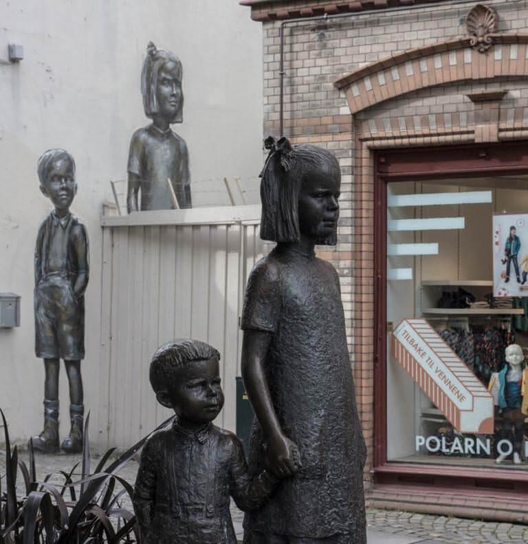 Norveçte sokak sanatı