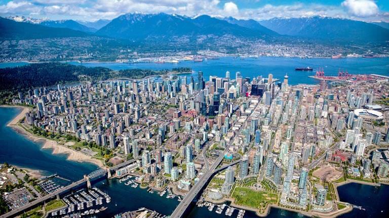 Vancouver iş merkezleri