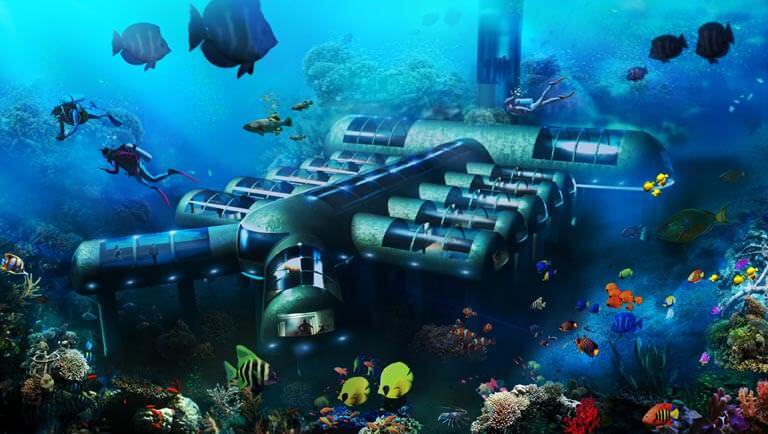 denizaltı planeti