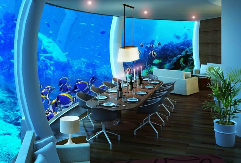 denizaltında yemek