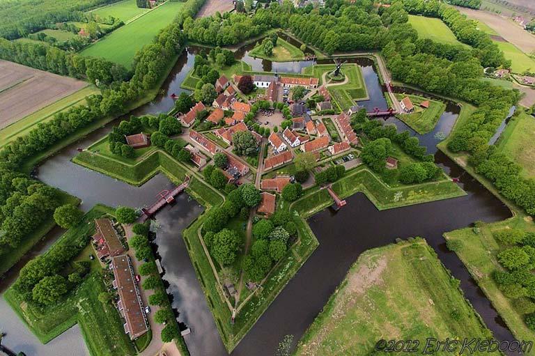 Hollanda'nın Yükselen Yıldızı: Fort Bourtange