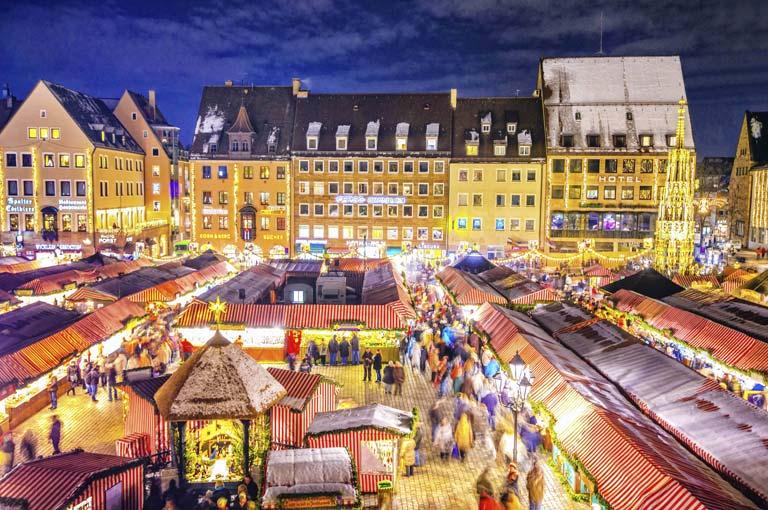 Avrupa'da Noel Pazarları ile Ünlü 10 Şehir