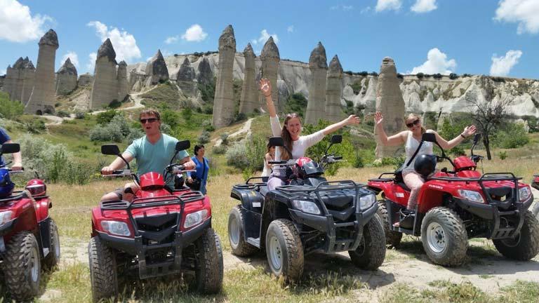 Kapadokya'da ATV Turuyla Gezilebilecek 5 Yer