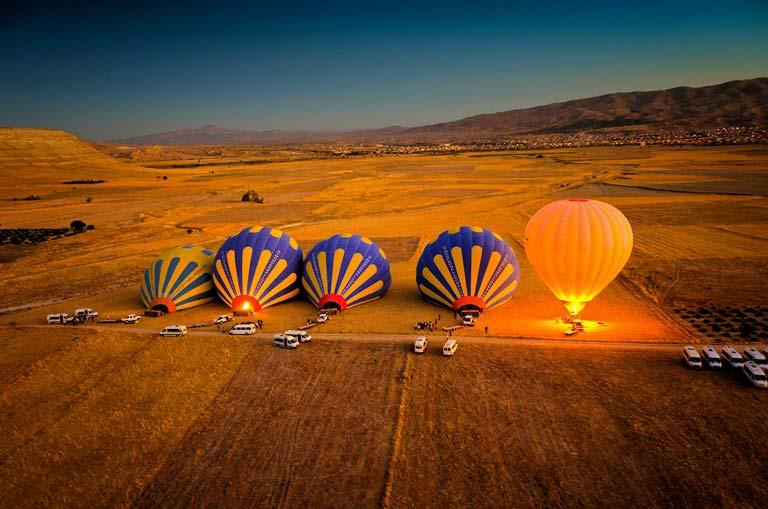 Sıcak Hava Balon Turları Hakkında Şaşırtıcı Gerçekler